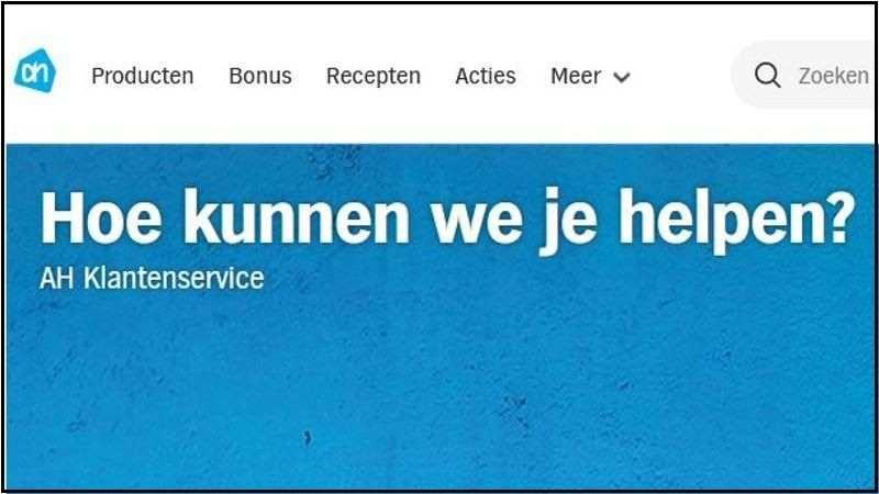betalen Albert Heijn creditcard