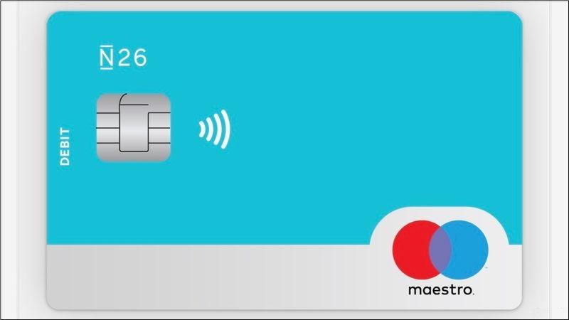 gratis bankrekening N26 Maestro