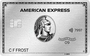 American Express Platinum Metal premium creditcard