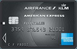 Flying Blue American Express Platinum premium creditcard